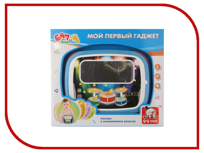 Планшет S+S toys Бамбини 00663232 детские компьютеры s s интерактивный планшет азбука дорожного движения