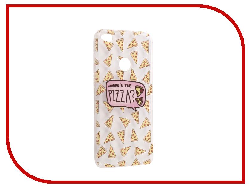Аксессуар Чехол Huawei Honor 8 Lite / 8 Lite 2017 With Love. Moscow Silicone Pizza 6188 аксессуар чехол huawei p10 lite with love moscow silicone lion 3 6324