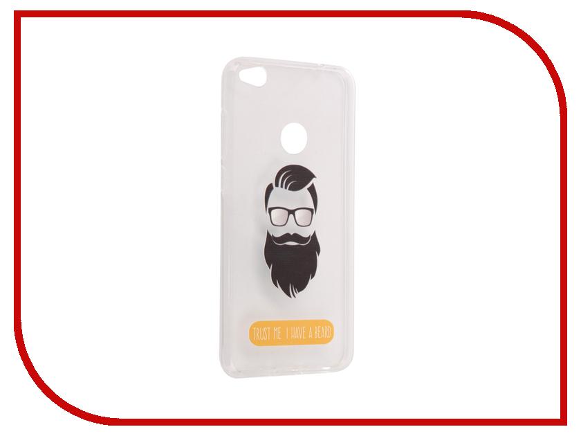 Аксессуар Чехол Huawei Honor 8 Lite / 8 Lite 2017 With Love. Moscow Silicone Beard 6197 nowley 8 6197 0 2