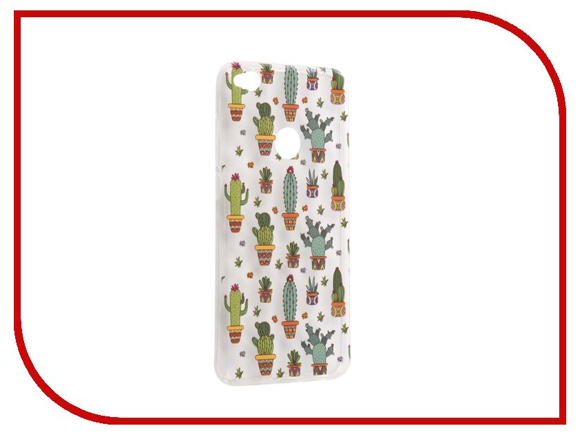 Аксессуар Чехол Huawei Honor 8 Lite / 8 Lite 2017 With Love. Moscow Silicone Cactus 6204 цена 2017