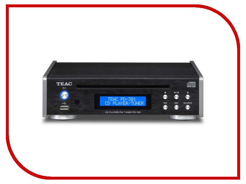 CD-проигрыватель Teac PD-301 Black teac pd 501hr