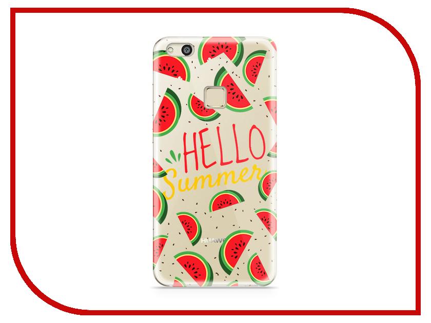 Аксессуар Чехол Huawei P10 Lite With Love. Moscow Silicone Hello Summer 6291 аксессуар чехол huawei p10 plus with love moscow silicone hello summer 6347