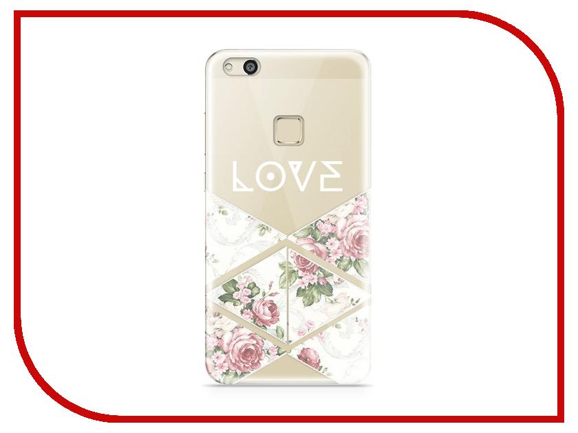 Аксессуар Чехол Huawei P10 Lite With Love. Moscow Silicone Love 2 6295