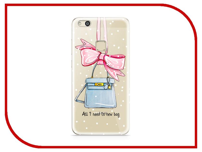 Аксессуар Чехол Huawei P10 Lite With Love. Moscow Silicone New Bag 6298 чехлы для телефонов with love moscow силиконовый дизайнерский чехол для meizu m3s перья