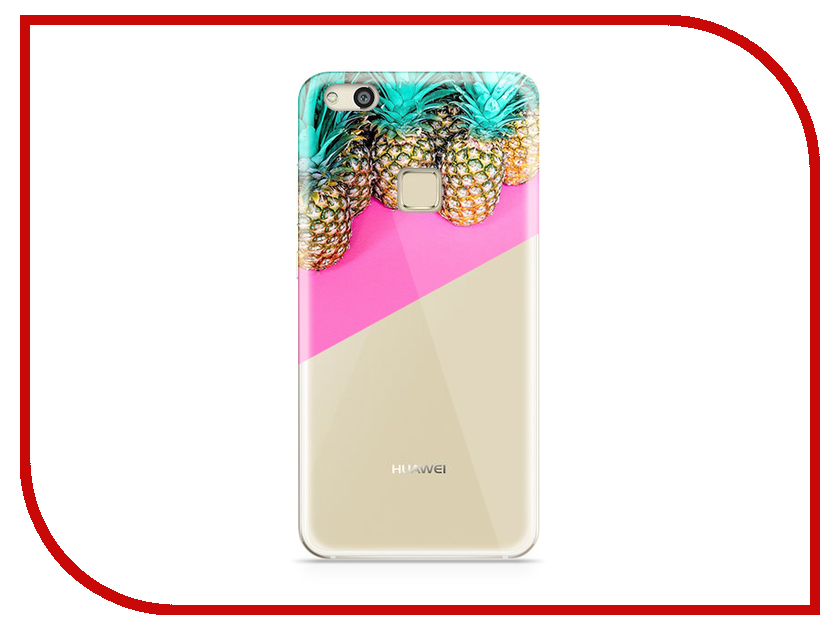 Аксессуар Чехол Huawei P10 Lite With Love. Moscow Silicone Pineapples 2 6303 аксессуар чехол samsung galaxy a3 2017 a320 with love moscow starlight night 6981