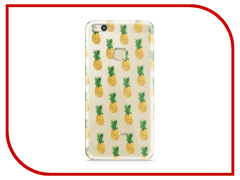 Аксессуар Чехол Huawei P10 Lite With Love. Moscow Silicone Pineapples 6304