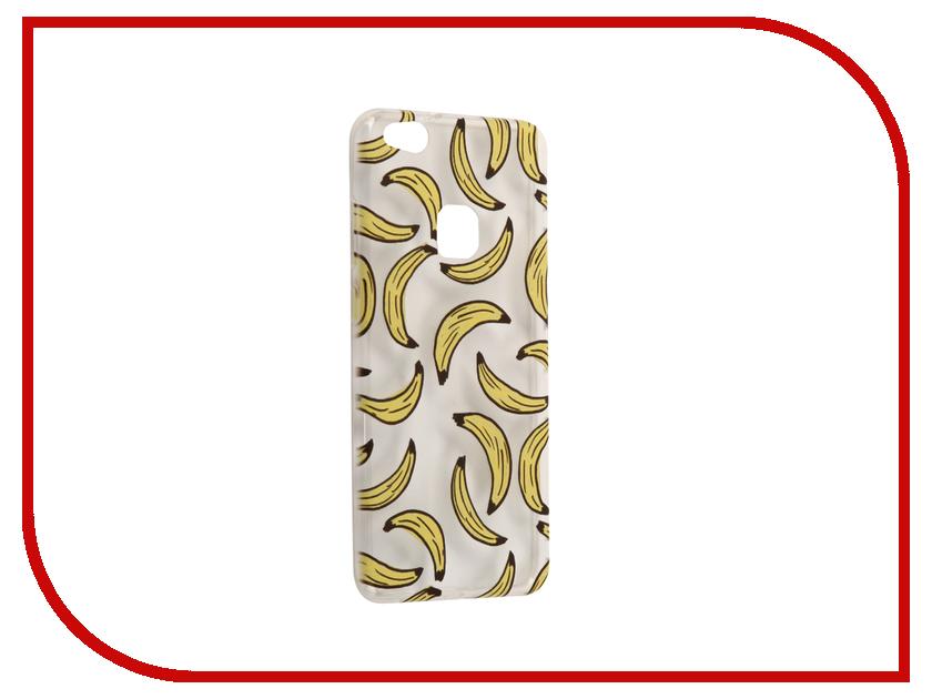 Аксессуар Чехол Huawei P10 Lite With Love. Moscow Silicone Bananas 6306 чехлы для телефонов with love moscow силиконовый дизайнерский чехол для meizu m3s перья