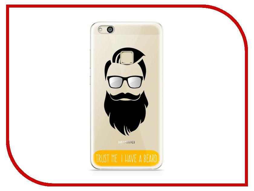 Аксессуар Чехол Huawei P10 Lite With Love. Moscow Silicone Beard 6309