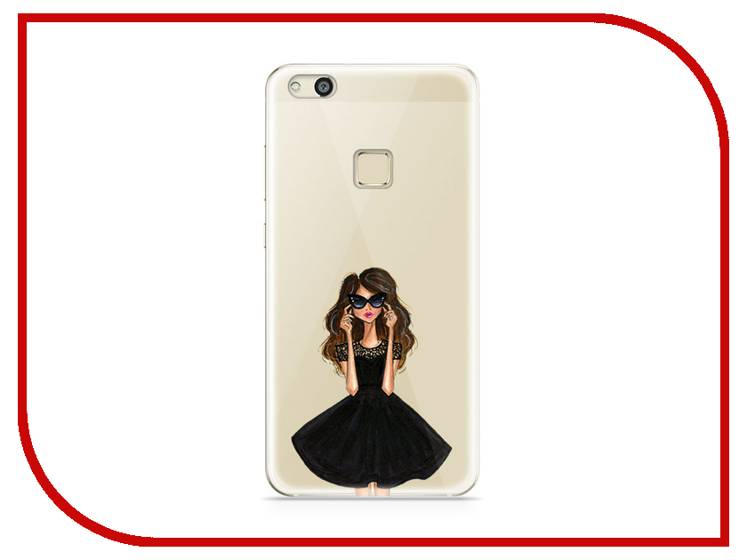 Аксессуар Чехол Huawei P10 Lite With Love. Moscow Silicone Girl in a Dress 6313 аксессуар чехол huawei p10 lite with love moscow silicone coffee 6289
