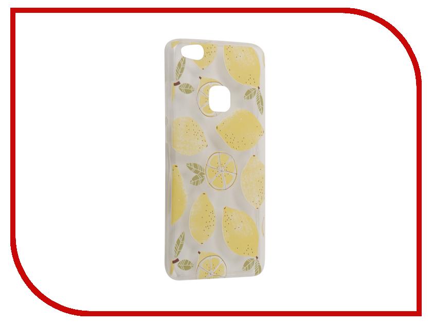 Аксессуар Чехол Huawei P10 Lite With Love. Moscow Silicone Lemons 6325