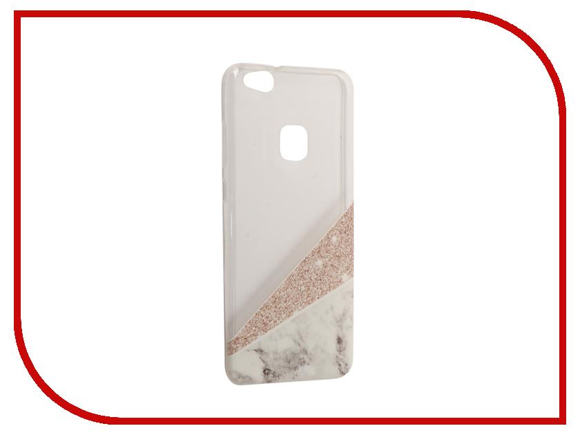 Аксессуар Чехол Huawei P10 Lite With Love. Moscow Silicone Marble 6329 чехлы для телефонов with love moscow силиконовый дизайнерский чехол для meizu m3s перья