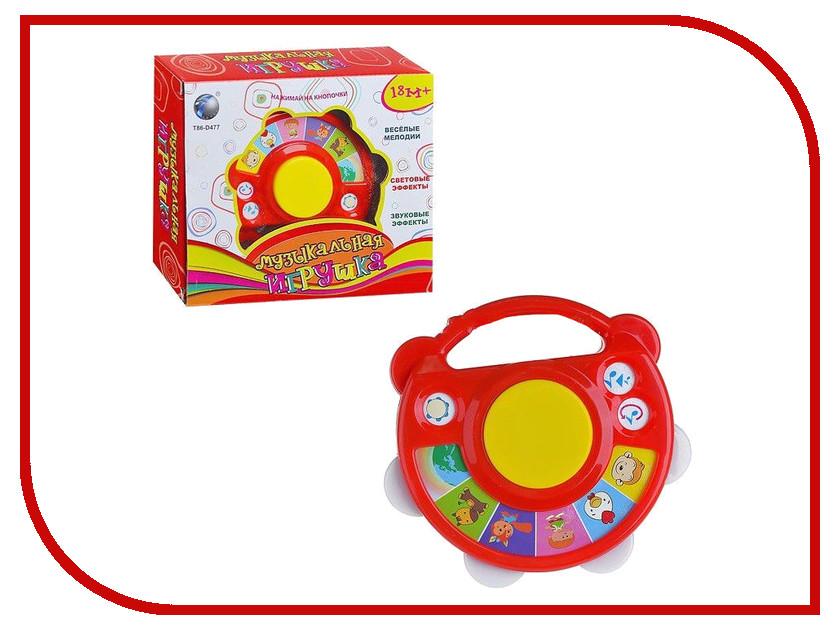 Детский музыкальный инструмент Tongde Бубен Веселые мелодии BA8002A