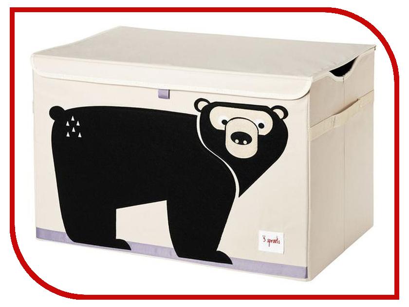 Корзина для игрушек 3 Sprouts Black Bear SPR908 корзина для игрушек 3 sprouts black bear spr908