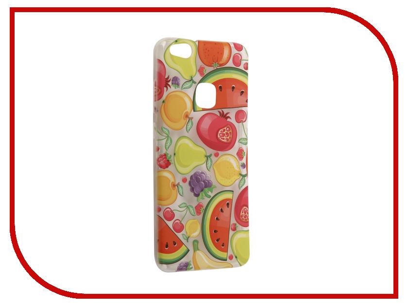 Аксессуар Чехол Huawei P10 Lite With Love. Moscow Silicone Fruit 6338