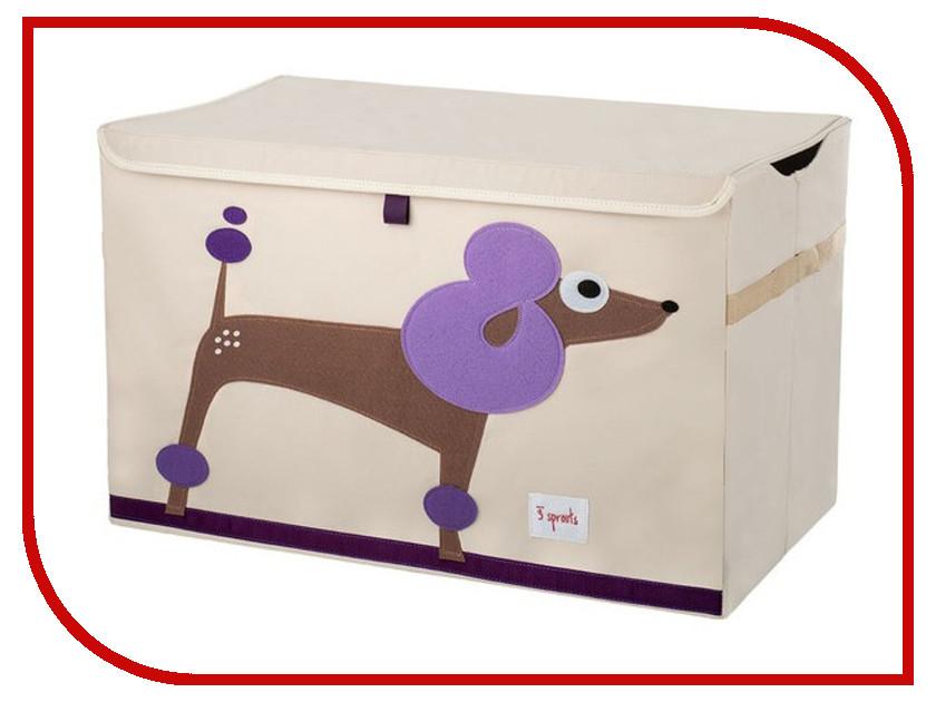 Сундук для игрушек 3 Sprouts Purple Poodle SPR902