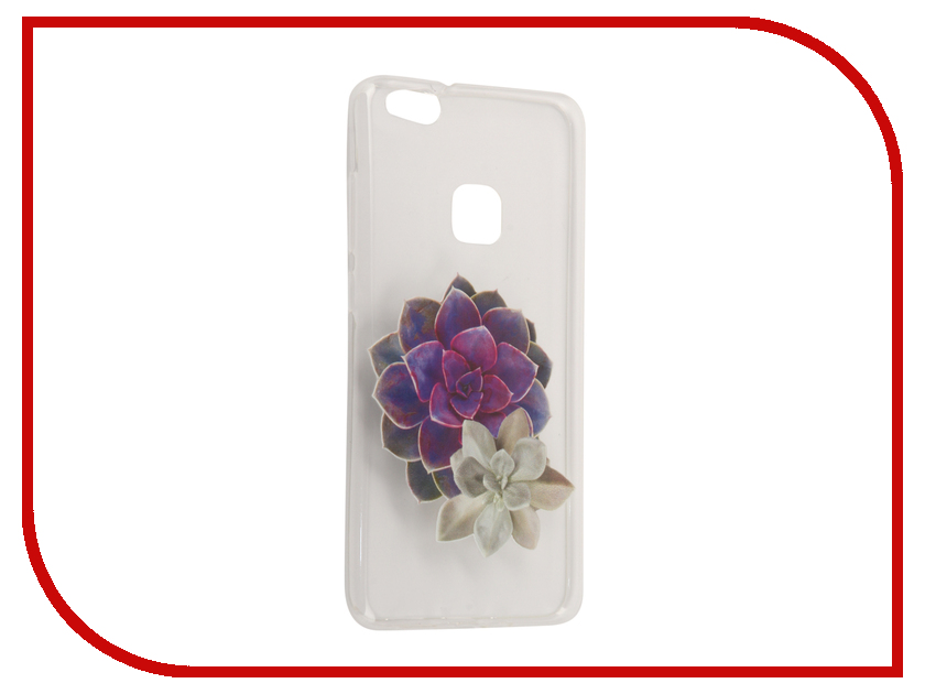 Аксессуар Чехол Huawei P10 Lite With Love. Moscow Silicone Flower 2 6339