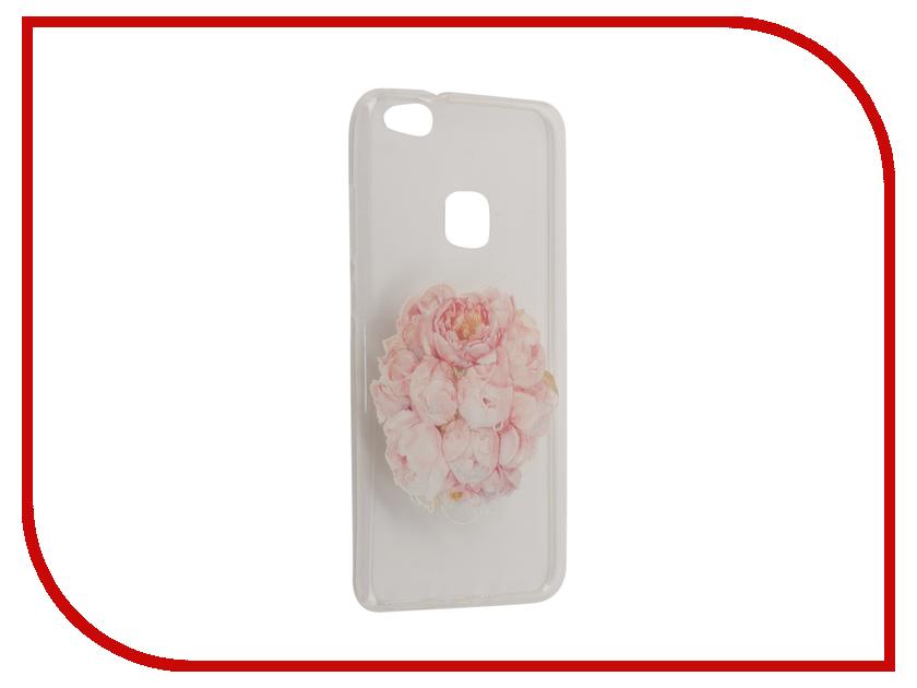 Аксессуар Чехол Huawei P10 Lite With Love. Moscow Silicone Flower 6340