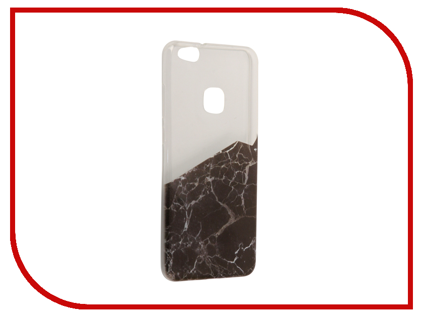 Аксессуар Чехол Huawei P10 Lite With Love. Moscow Silicone Black Marble 2 6342 аксессуар чехол huawei y5 2017 with love moscow кожаный black 10232