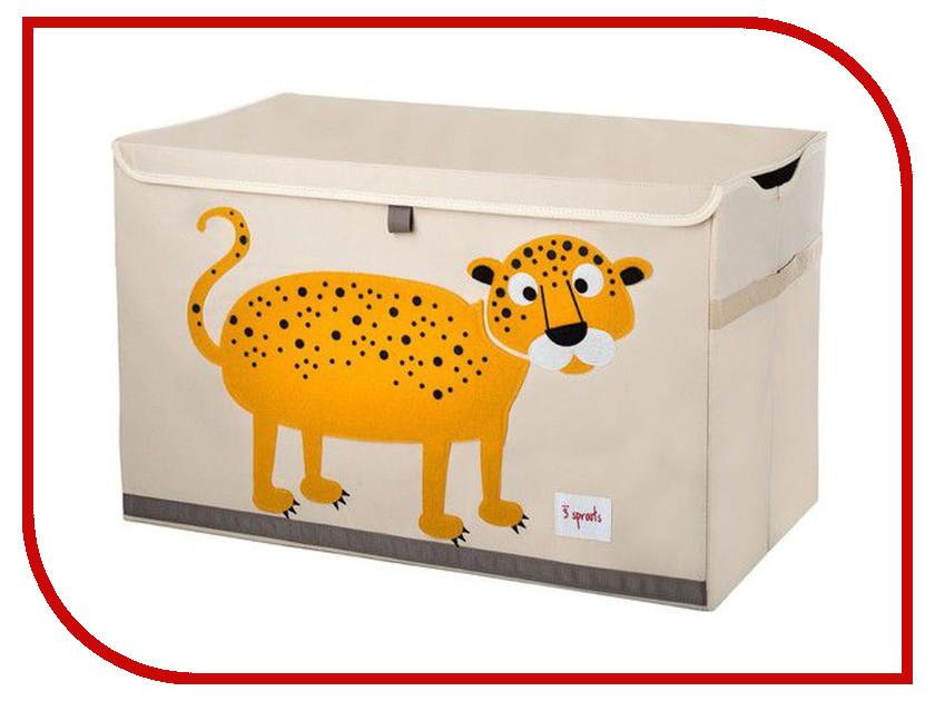 Сундук для игрушек 3 Sprouts Orange Leopard SPR901