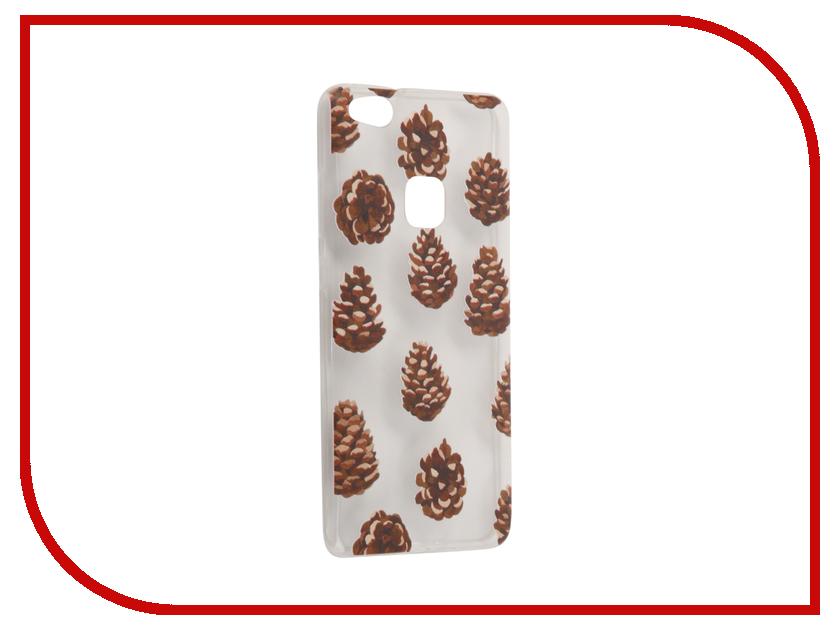 Аксессуар Чехол Huawei P10 Lite With Love. Moscow Silicone Cones 6343