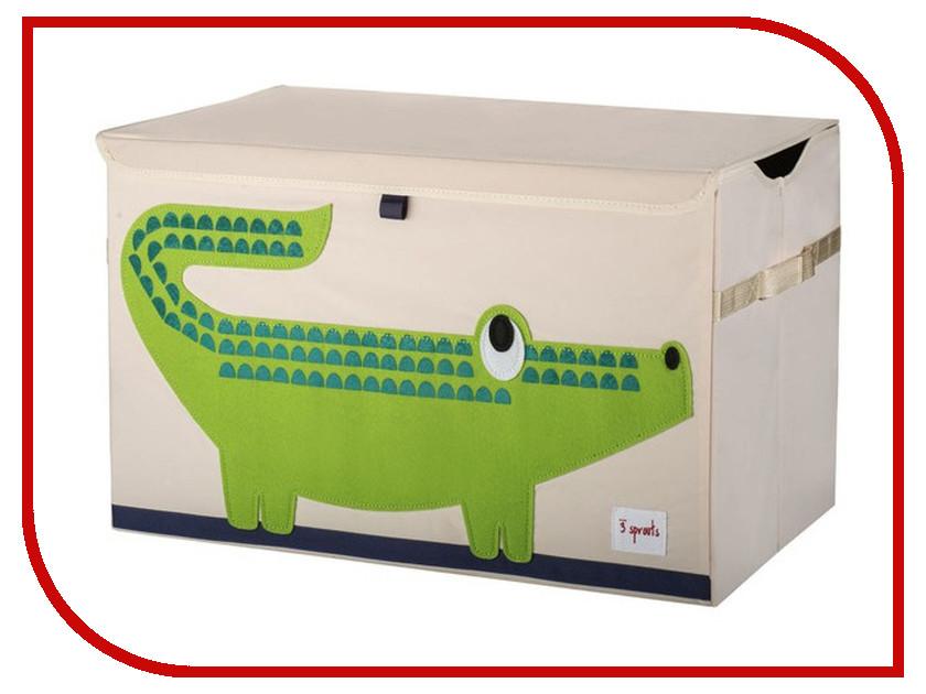 Сундук для игрушек 3 Sprouts Green Crocodile SPR904