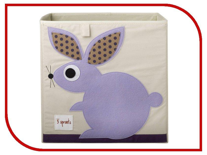 Коробка для игрушек 3 Sprouts Purple Rabbit SPR407