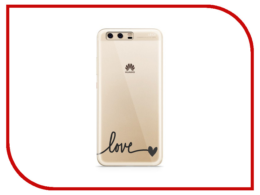 Аксессуар Чехол Huawei P10 Plus With Love. Moscow Silicone Love 6352 аксессуар чехол huawei p10 plus with love moscow silicone hello summer 6347