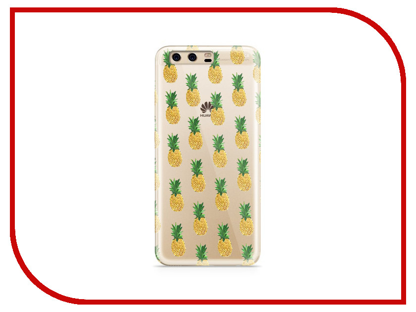 Аксессуар Чехол Huawei P10 Plus With Love. Moscow Silicone Pineapples 6360 аксессуар чехол huawei p10 plus with love moscow silicone pizza 6356