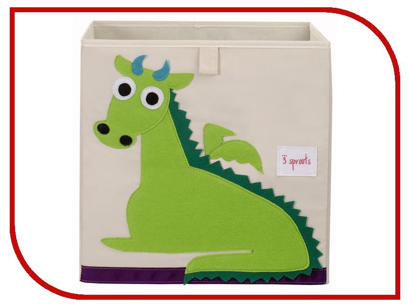 Коробка для игрушек 3 Sprouts Green Dragon SPR404