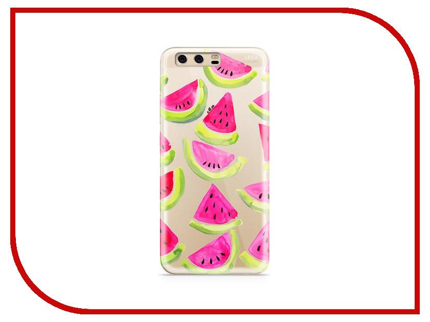 Аксессуар Чехол Huawei P10 Plus With Love. Moscow Silicone Watermelon 3 6361 аксессуар чехол huawei p10 plus with love moscow silicone hello summer 6347