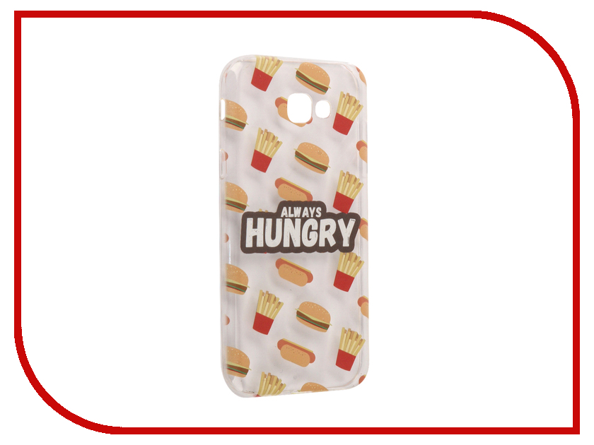 Аксессуар Чехол Samsung Galaxy A7 2017 With Love. Moscow Silicone Hungry 5060 аксессуар чехол samsung galaxy a7 2017 with love moscow silicone russia 5090