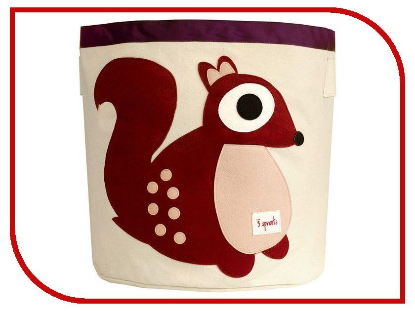 Корзина для игрушек 3 Sprouts Berry Squirrel SPR209