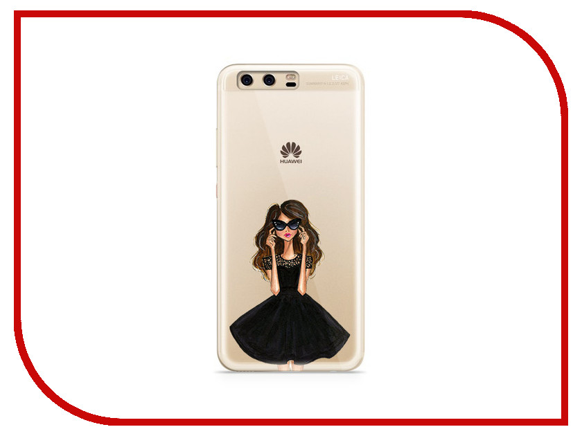 Аксессуар Чехол Huawei P10 Plus With Love. Moscow Silicone Girl in a Dress 6369 аксессуар чехол huawei p10 plus with love moscow silicone hello summer 6347
