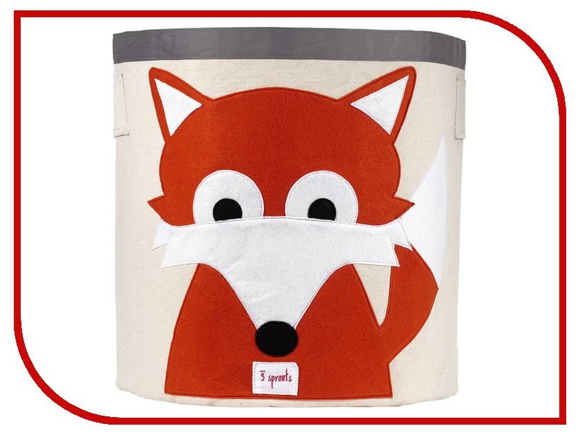 Корзина для игрушек 3 Sprouts Orange Fox SPR204 сумка michael michael kors michael michael kors mi048bwllg08