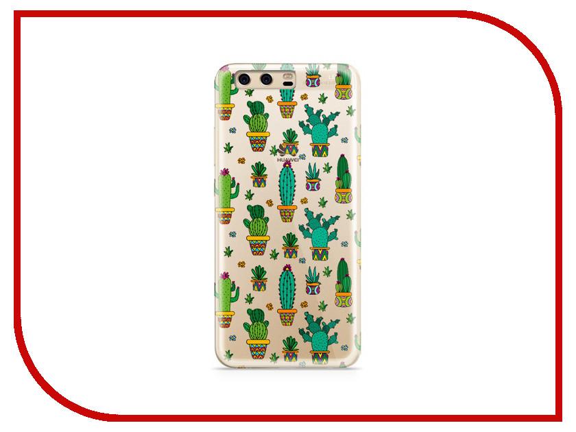 Аксессуар Чехол Huawei P10 Plus With Love. Moscow Silicone Cactus 6372 аксессуар чехол huawei p10 plus with love moscow silicone hello summer 6347