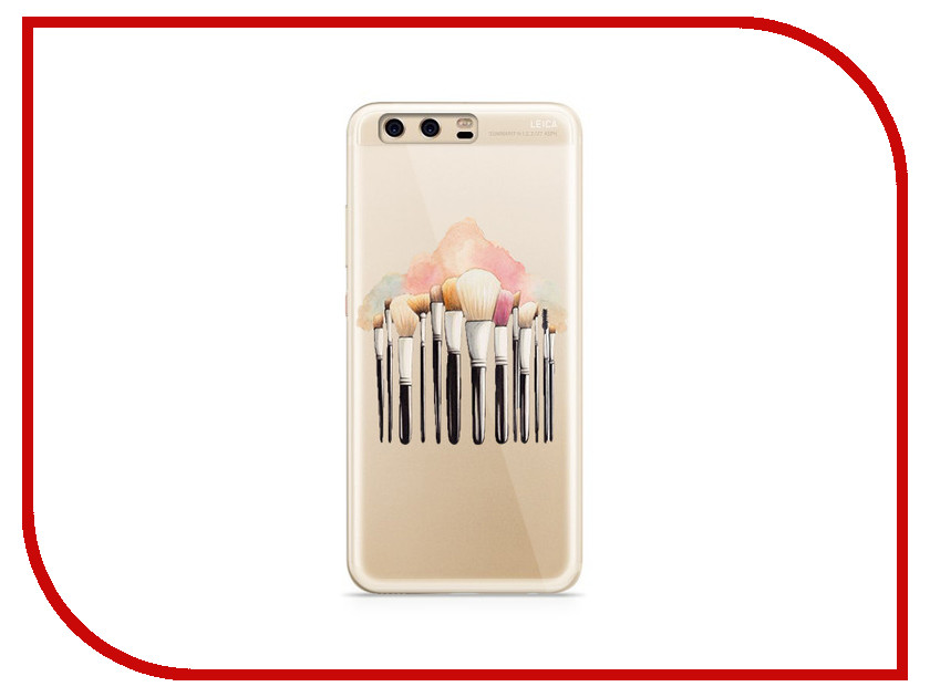 Аксессуар Чехол Huawei P10 Plus With Love. Moscow Silicone Brushes 6374 аксессуар чехол huawei p10 plus with love moscow silicone hello summer 6347