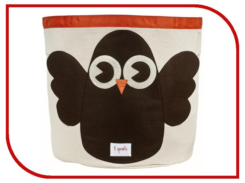Корзина для игрушек 3 Sprouts Brown Owl SPR207