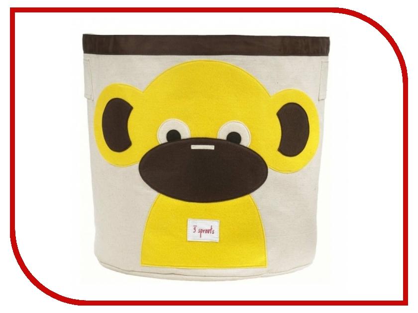 Корзина для игрушек 3 Sprouts Yellow Monkey SPR206