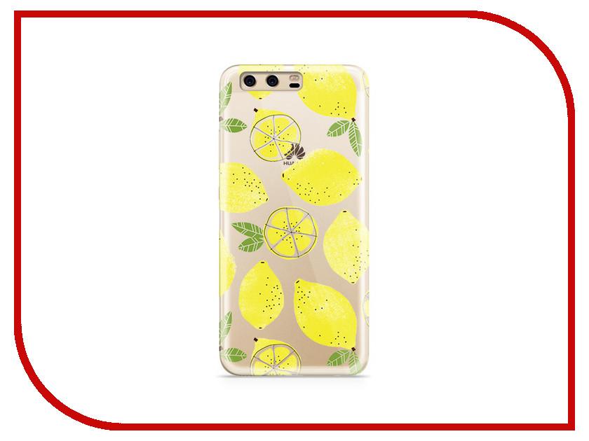 Аксессуар Чехол Huawei P10 Plus With Love. Moscow Silicone Lemons 6381 аксессуар чехол huawei p10 plus with love moscow silicone hello summer 6347