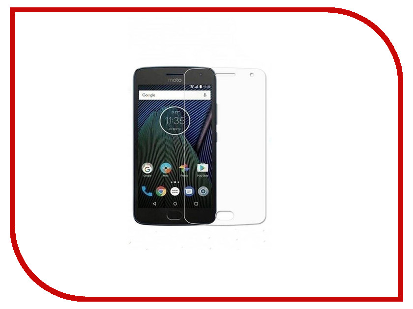 смартфоны motorola motorola g5s xt1794 gold Аксессуар Защитное стекло Motorola Moto G5s Onext 41396