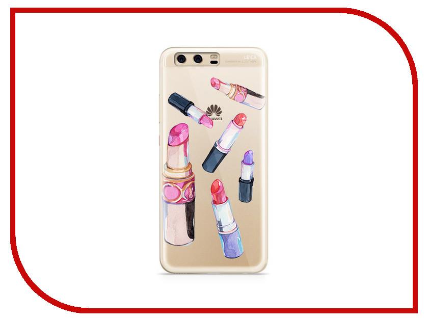 Аксессуар Чехол Huawei P10 Plus With Love. Moscow Silicone Lipsticks 6388 аксессуар чехол huawei p10 plus with love moscow silicone hello summer 6347