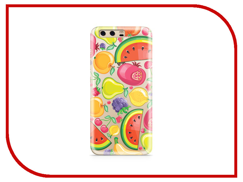 Аксессуар Чехол Huawei P10 Plus With Love. Moscow Silicone Fruit 6394 аксессуар чехол huawei p10 plus with love moscow silicone hello summer 6347