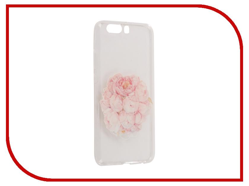 Аксессуар Чехол Huawei P10 Plus With Love. Moscow Silicone Flower 6396 чехлы для телефонов with love moscow силиконовый дизайнерский чехол для meizu m3s перья