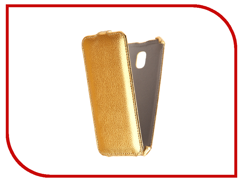 Аксессуар Чехол Samsung Galaxy J3 2017 J330F Svekla Gold FL-SVSAMJ330F-GOLD ракетка neottec 2000c fl