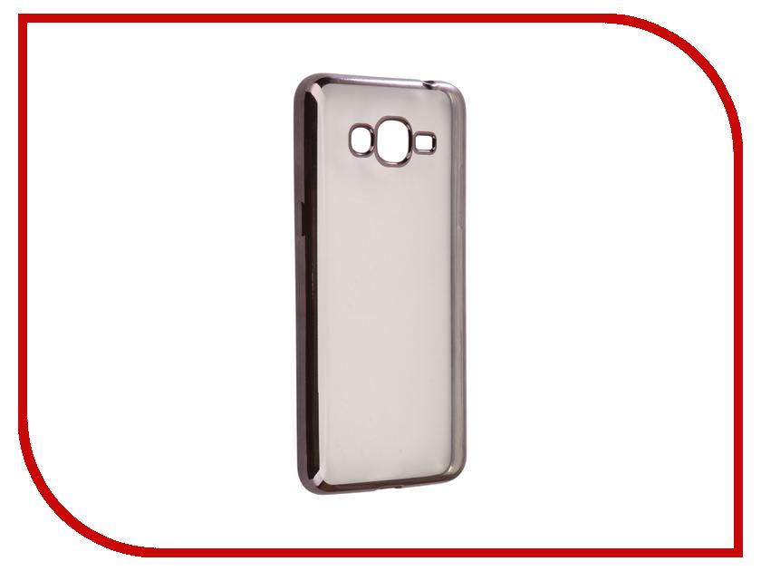 Аксессуар Чехол Samsung Galaxy J2 Prime G532F Svekla Flash Silicone Black SVF-SGG532F-BL аксессуар чехол samsung galaxy j5 prime g570f svekla black fl svsamg570f bl