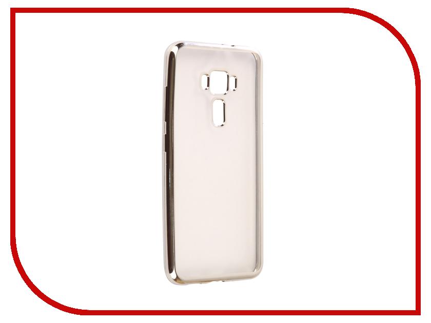Аксессуар Чехол ASUS ZenFone 3 ZE552KL Svekla Flash Silicone Silver SVF-ASZE552KL-SIL samsung rs 552 nruasl