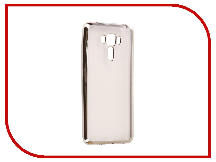 Аксессуар Чехол ASUS ZenFone 3 Lazer ZC551KL Svekla Flash Silicone Silver SVF-ASZC551KL-SIL