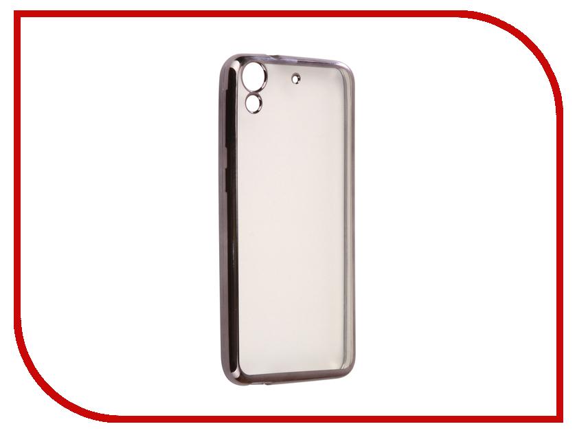 Аксессуар Чехол HTC Desire 650 Svekla Flash Silicone Black SVF-HTD650-BL