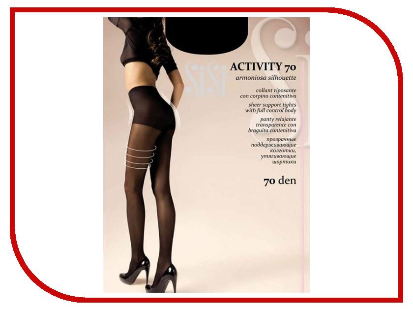 Колготки SiSi Activity размер 2 плотность 70 Den Nero activity book forward 2 класс