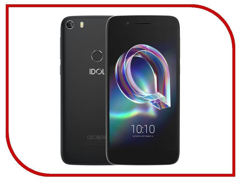 Сотовый телефон Alcatel 6058D Idol 5 Metal Black смартфон alcatel idol 5 4g ds metal blackb 6058d